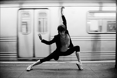 subway ballet | DelysiaStyle